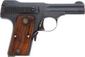 Military & Patriotic:WWI, Smith & Wesson .35 S & W Auto Ctg. Automatic Pistol #8244....