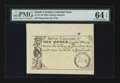 Colonial Notes:South Carolina, 19th Century Reprint South Carolina June 30, 1748 £1 PMG ChoiceUncirculated 64 EPQ.. ...