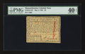 Colonial Notes:Massachusetts, Massachusetts May 5, 1780 $2 PMG Extremely Fine 40 EPQ.. ...