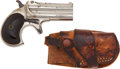 Military & Patriotic:WWI, Very Fine .41 RF Remington Over/ Under Double Derringer 3rdModel....