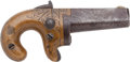 Military & Patriotic:Indian Wars, National Arms Co. No. 2 .41 RF Derringer #4387....