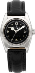 Timepieces:Wristwatch, Rolex Ref. 2940 Steel Bubble Back, circa 1942. ...