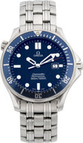 Timepieces:Wristwatch, Omega Stainless Steel Seamaster Professional. ...