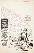 Original Comic Art:Covers, Kurt Schaffenberger Unknown Worlds #51 Cover Original Art(American Comics, 1966)....