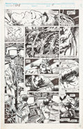 Original Comic Art:Panel Pages, Barry Smith Marvel Comics Presents #73 Weapon X page6 Original Art (Marvel, 1991)....