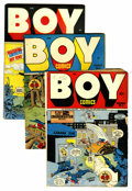 Golden Age (1938-1955):Superhero, Boy Comics Group (Lev Gleason, 1946-47).... (Total: 5 Comic Books)