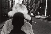 LEE FRIEDLANDER (American, b. 1934) New York City (Shadow), 1966 Gelatin silver, circa 1973 6-1/4