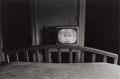 Photographs:20th Century, LEE FRIEDLANDER (American, b. 1934). TV in Hotel Room, Galax,Virginia, from 15 Photographs Portfolio, 1962. Gelatin sil...