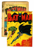 Golden Age (1938-1955):Superhero, Batman #1 (DC, 1940) Condition: PR....
