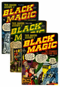 Golden Age (1938-1955):Horror, Black Magic #4-6 Group (Prize, 1951).... (Total: 3 Comic Books)