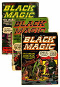 Golden Age (1938-1955):Horror, Black Magic #8 and 10-14 Group (Prize, 1952-53).... (Total: 6 ComicBooks)