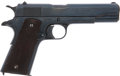 Military & Patriotic:WWI, Colt 1911 Commercial Government Cal. .45 ACP Automatic Pistol #C111523 Mfg. 1919....