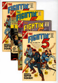 Silver Age (1956-1969):Adventure, The Fightin' 5 Group #28, 29, and 40 Western Penn pedigree (Charlton, 1965-66) Condition: Average VF/NM.... (Total: 4 Comic Books)