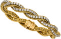 Estate Jewelry:Bracelets, Diamond, Gold Bracelet, Nieman Marcus, French. ...