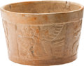 Antiques:Antiquities, Bowl with Molded Images...