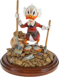 Carl Barks Uncle Scrooge Pick and Shovel Laborer Limited Edition Figurine Artist's Proof II (Another Rainbow, 1994