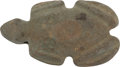 Antiques:Antiquities, Stone Pendant in the Form of a Frog...