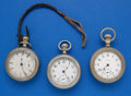 Timepieces:Pocket (post 1900), Three - 18 Size Parts Pocket Watches. ... (Total: 3 Items)