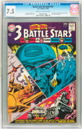 The Brave and the Bold #52 - 3 Battle Stars (DC, 1964) CGC VF- 7.5 Cream to off-white pages