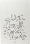 Original Comic Art:Covers, Huey, Dewey, and Louie Junior Woodchucks #69 Cover Original Art(Whitman, 1981)....