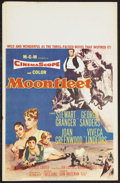 "Movie Posters:Adventure, Moonfleet (MGM, 1955). Window Card (14"" X 22""). Adventure. StarringStewart Granger, George Sanders, Joan Greenwood, Viveca ..."
