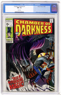 Silver Age (1956-1969):Horror, Chamber of Darkness #1 (Marvel, 1969) CGC NM- 9.2 White pages.Romita cover, John Buscema art. Overstreet 2004 NM- 9.2 value...