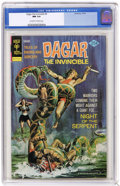 Bronze Age (1970-1979):Miscellaneous, Dagar the Invincible #9 (Gold Key, 1974) CGC NM 9.4 Off-white towhite pages. Overstreet 2004 NM- 9.2 value = $12. CGC censu...