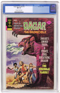 Bronze Age (1970-1979):Miscellaneous, Dagar the Invincible #10 (Gold Key, 1974) CGC NM 9.4 Off-white towhite pages. Overstreet 2004 NM- 9.2 value = $12. CGC cens...