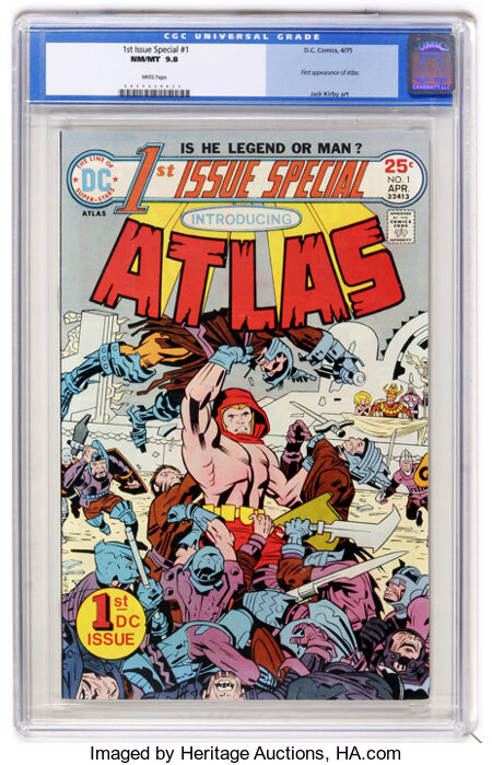 1st Issue Special #1 (DC, 1975) CGC NM/MT 9.8 White pages....