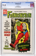 Silver Age (1956-1969):Superhero, Frankenstein #2 Curator pedigree (Dell, 1966) CGC NM/MT 9.8 White pages. This issue came out two years after the movie adapt...