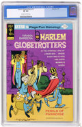 Bronze Age (1970-1979):Cartoon Character, Harlem Globetrotters #12 (Gold Key, 1975) CGC VF 8.0 Off-white towhite pages. Overstreet 2004 VF 8.0 value = $11. CGC censu...