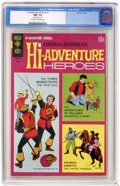 """Silver Age (1956-1969):Adventure, Hi-Adventure Heroes #1 (Gold Key, 1969) CGC NM- 9.2 Off-white to white pages. CGC notes, """"Date stamp on cover."""" Overstreet 2..."""