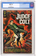 Bronze Age (1970-1979):Western, Judge Colt #4 (Gold Key, 1970) CGC NM/MT 9.8 Off-white pages. Overstreet 2004 NM- 9.2 value = $28. CGC census 2/05: 2 in 9.8...
