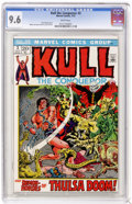 Bronze Age (1970-1979):Superhero, Kull the Conqueror #3 (Marvel, 1972) CGC NM+ 9.6 White pages. Marie and John Severin cover and art. Overstreet 2004 NM- 9.2 ...