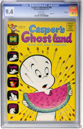 Bronze Age (1970-1979):Cartoon Character, Casper's Ghostland #58 File Copy (Harvey, 1971) CGC NM 9.4 Whitepages....