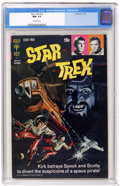 Bronze Age (1970-1979):Science Fiction, Star Trek #12 (Gold Key, 1971) CGC NM- 9.2 Off-white pages. Overstreet 2004 NM- 9.2 value = $100. From the collection of C...