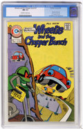 Bronze Age (1970-1979):Cartoon Character, Wheelie and the Chopper Bunch #1 (Charlton, 1975) CGC NM 9.4Off-white to white pages. Early John Byrne art for 2 page text ...