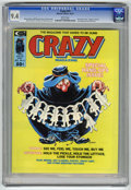 Magazines:Humor, Crazy Magazine #13 (Marvel, 1975) CGC NM 9.4 White pages. Nick Cardy cover. Overstreet 2004 NM- 9.2 value = $14. CGC census ...