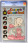Bronze Age (1970-1979):Cartoon Character, Casper's Ghostland #65 File Copy (Harvey, 1972) CGC NM 9.4Off-white pages....