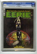 Magazines:Horror, Eerie #8 Pacific Coast pedigree (Warren, 1967) CGC NM- 9.2 Off-white pages. Cover by Frank Frazetta; interior art by Steve D...