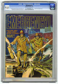 Magazines:Miscellaneous, Emergency #1 (Charlton, 1976) CGC VF/NM 9.0 Off-white to whitepages. Based on the television series. Neal Adams cover. Adam...