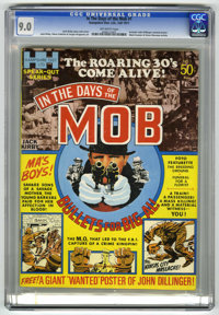 """In the Days of the Mob #1 (Hampshire Distributors, 1971) CGC VF/NM 9.0 Off-white pages. Includes John Dillinger """"wa..."""