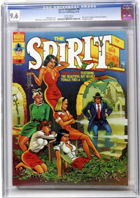 The Spirit #8 (Warren, 1975) CGC NM+ 9.6 White pages. Contains the Spirit's Women Club text. Will Eisner and Ken Kelly c...