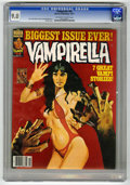 Magazines:Horror, Vampirella #64 (Warren, 1977) CGC VF/NM 9.0 Off-white to whitepages. Enrich Torres cover. Carmine Infantino and Gonzalo May...