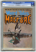 Bronze Age (1970-1979):Horror, Weird Tales of the Macabre #1 (Atlas-Seaboard, 1975) CGC NM- 9.2Off-white to white pages. Jeff Jones cover. Ramon Torrents,...