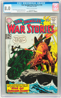 Star Spangled War Stories #105 (DC, 1962) CGC VF 8.0 Cream to off-white pages