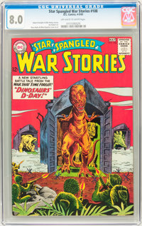Star Spangled War Stories #108 (DC, 1963) CGC VF 8.0 Off-white to white pages