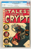 Golden Age (1938-1955):Horror, Tales From the Crypt #43 Bethlehem pedigree (EC, 1954) CGC FN/VF7.0 Off-white pages....
