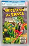 Silver Age (1956-1969):Superhero, Mystery in Space #53 (DC, 1959) CGC FN 6.0 Off-white to white pages....