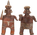 Antiques:Antiquities, Nayarit Warrior Couple... (Total: 2 Items)